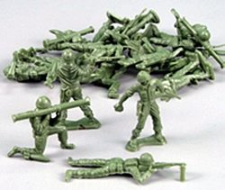 army men plastic soldiers
