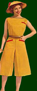 1960s fashion trends - culottes