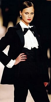 YSL Tuxedo outfit