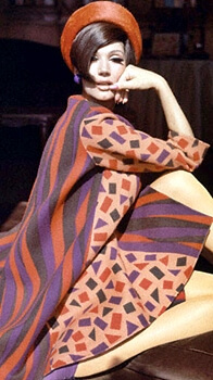 Emilio Pucci 1960s fashion designer