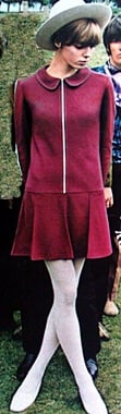 1960s fashion - mod fashion dress