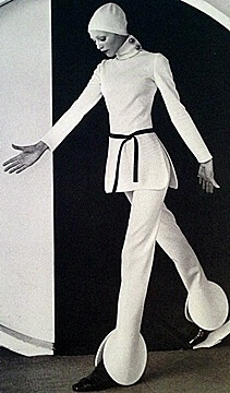 1960s style fashion pants