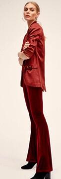 1960s suede pants