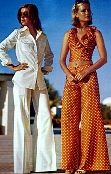 1960s fashion - pants designer