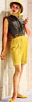 1960s fashion shorts