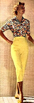 1968 capri pants