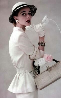 1950s Designer hats