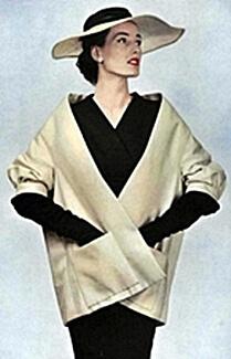 Designer 1950s fashion hat