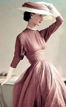 1950s designer fashion hat
