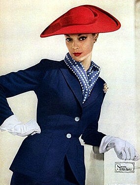 hats from the 1950s fashion