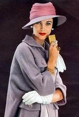 1950s fashion womans hat