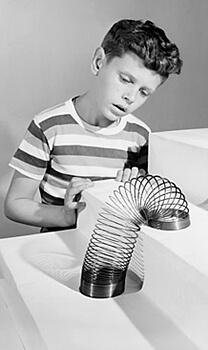 Slinky - 1950s toys