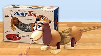 1950s Toys - Slinky Dog