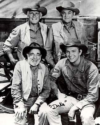 Wagon Train Cast